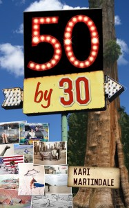 fifty by thirty, fifty by 30, road trip book