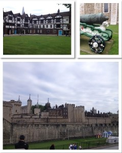 tower of london collage