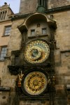 Prague's iconic clock