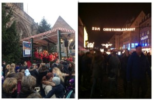 Christkindlesmarkt crowds
