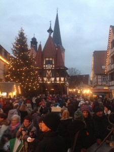 The atmosphere: Nothing will give you the Christmas spirit like walking down Fachwerk-lined streets, amidst hot drinks and laughter and ornaments and lights and cookies and nutcrackers and carolers...it is just plain special
