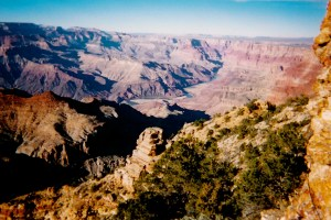 UNITED STATES - first visit 1975, when I was, um, born. Grand Canyon, 1999