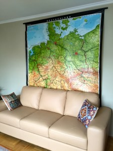 antique germany map