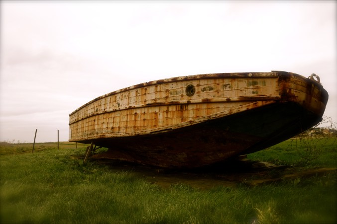 boat from wwii, beaches of normandy, D-Day