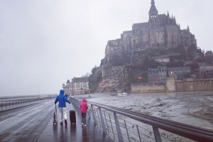 A Rainy Overnight in Mont St. Michel