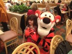 tigger, hugs, grand floridian, mary poppins breakfast, wdw