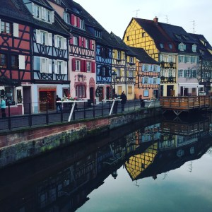 Colmar, France is a beautiful city of canals