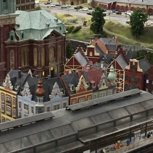 model trains, miniature city, attractions