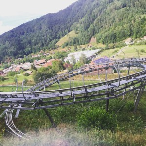 The Sommerrodelbahn Gutach in Gutach, Germany