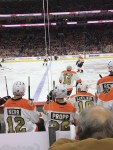 philadelphia flyers 50th anniversary alumni hockey game 2017 bobby clarke