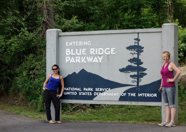 Entering the Blue Ridge Parkway: America's Favourite Drive. USA -- Karina Noriega