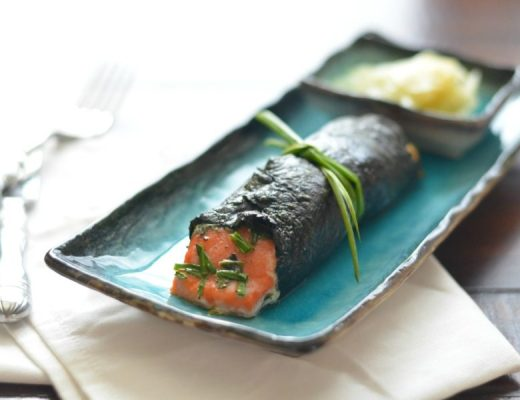 Nori Wrapped Salmon // Karista's Kitchen