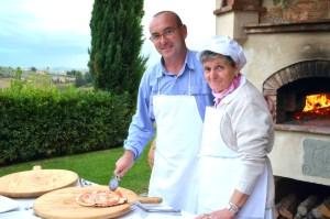 Chef Ana and Franco