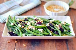 Green Bean and Smoked Goat Cheese Salad edit