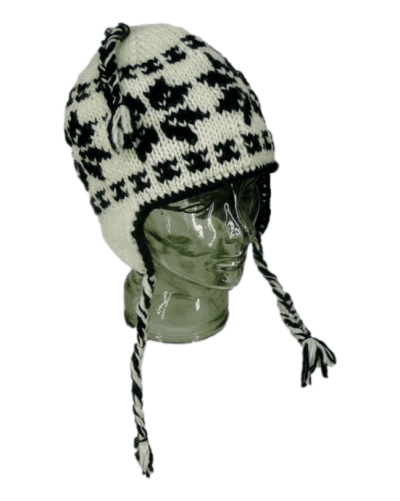 Warm winter knitted hat| Karma Gear
