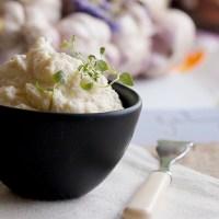 Kremowe puree z kalafiora / Creamy cauliflower puree