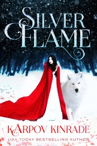 Silver Flame Book Cover 2 High Contrast