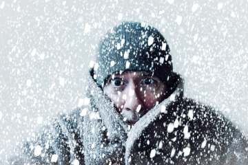 Out in the cold Shutterstock