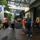 Pengaspalan Hotmix Manual CNI Puri Kembangan Jakarta