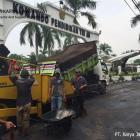 Pengaspalan Markas Komando TNI AU Halim Perdana Kusuma
