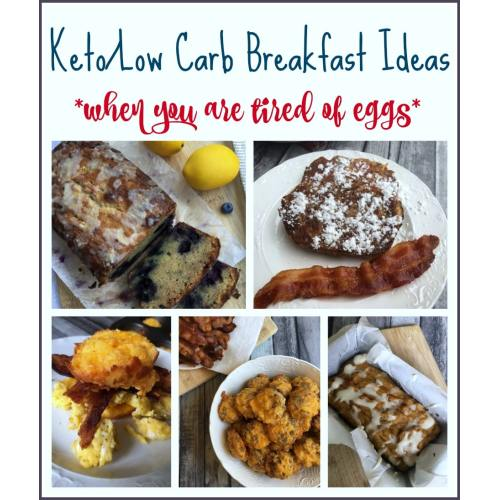 Medium Crop Of Low Carb Breakfast Without Eggs