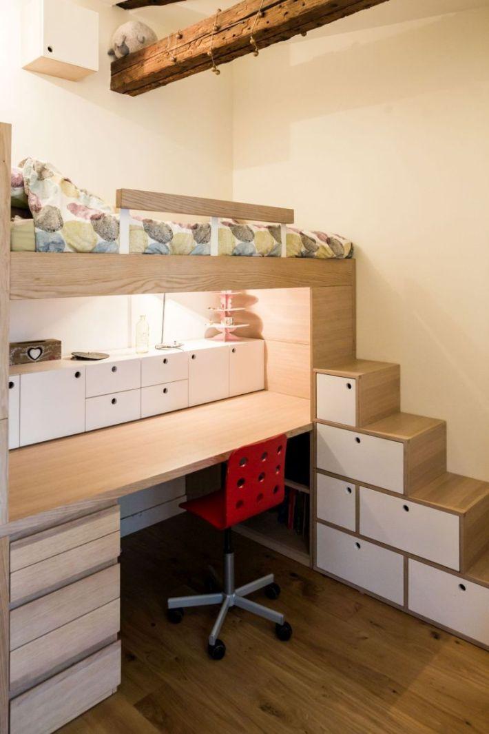 meubles sur mesure pour la chambre d'enfant