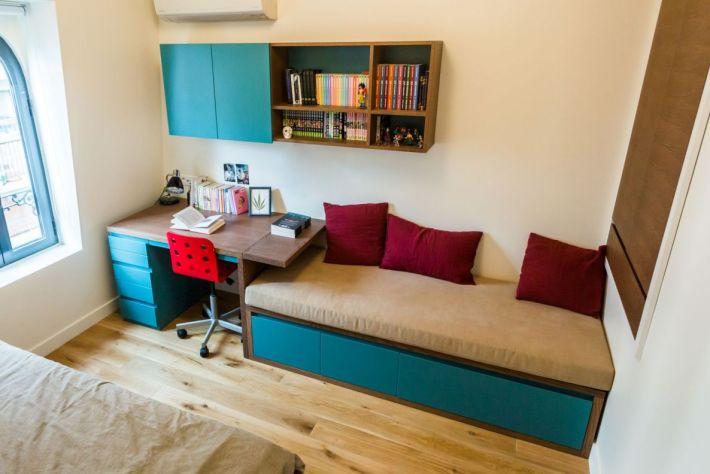 meubles sur mesure pour la chambre de garcon