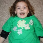 "DIY ""No-Sew"" St. Patrick's Day T-shirt"