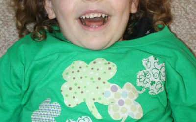 St. Patrick's Day No Sew Tshirt