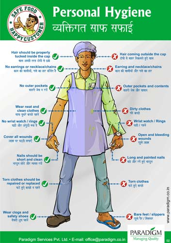 Health Safety and Hygiene - Kate's food tech