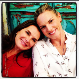 Brooke Shields and Kate Drummond (Flower Shop Mystery Series)