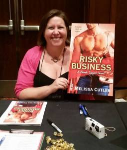 Melissa Cutler with Risky Business Cover