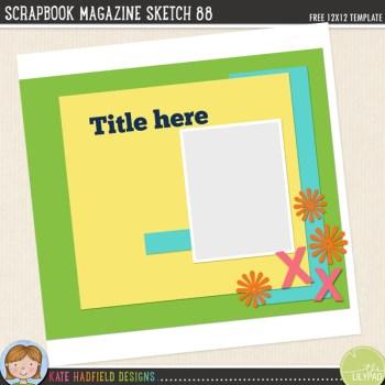 Sketchbook Magazine Sketch 88