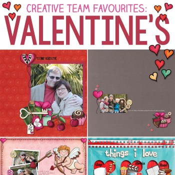 Love and Valentines favourites from the team!