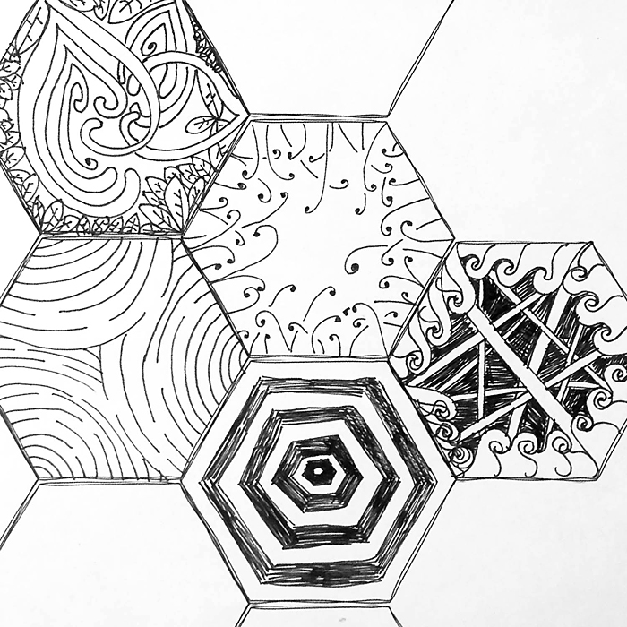Zentangle Starter Sheets