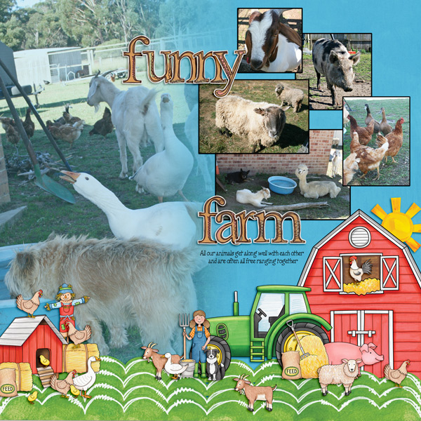 """Kate Hadfield Designs Creative Team """"On the Farm"""" 