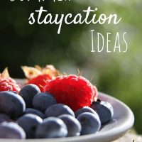summer staycation ideas for families with kids