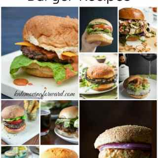 13 Mouthwatering Burger Recipes - Crazy good burgers--chicken, turkey, all beef, vegetarian! You're going to want to fire up the grill ASAP!