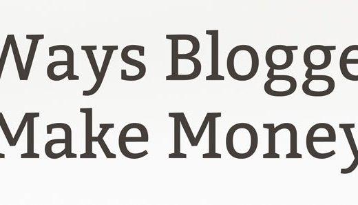 5 Ways Bloggers Make Money