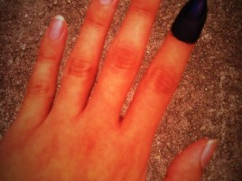 my finger for First Time Voting Experiences for 13th General Election Malaysia 2013