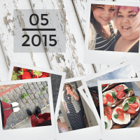 Mein Mai 2015 {Snaps of Happiness: Street Food Festival in Mainz, Bloggerbücher & mehr}