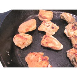Small Crop Of Pan Fried Oysters