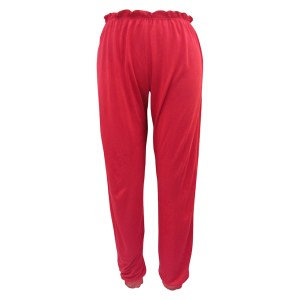 Cassandra Cuff Slim Pant, Red Passion