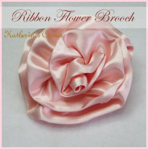 What To Do When You Lose A Button, Ribbon Flower Craft