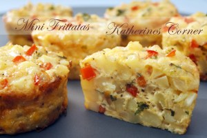 Meatless Monday Mini Frittatas