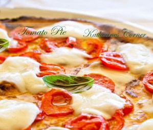 Meatless Monday Tomato Pie