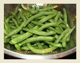 Meatless Monday Take Away Green Beans