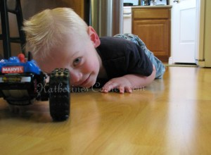 Wordless Wednesday A Boy and His Car