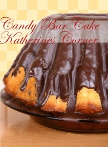 Meatless Monday Recipe Candy Bar Cake