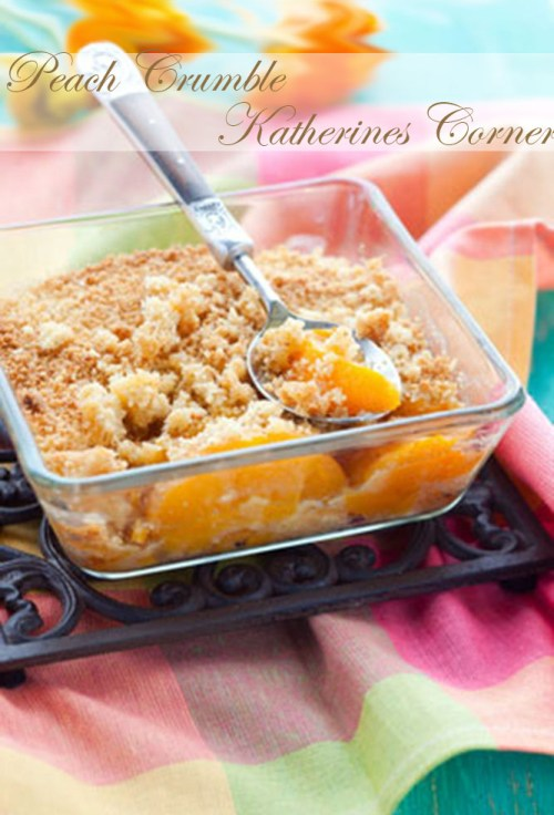 peach crumble katherines corner